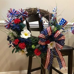 Other - Fourth of July wreath.